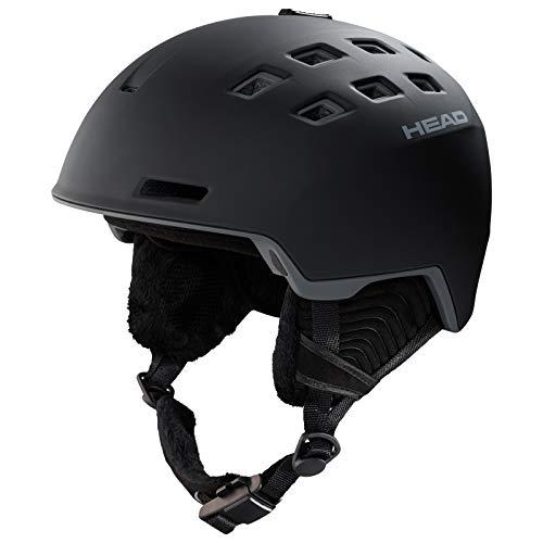 HEAD Unisex-Helm Rev Skihelm Snowboardhelm, Schwarz, XL/XXL
