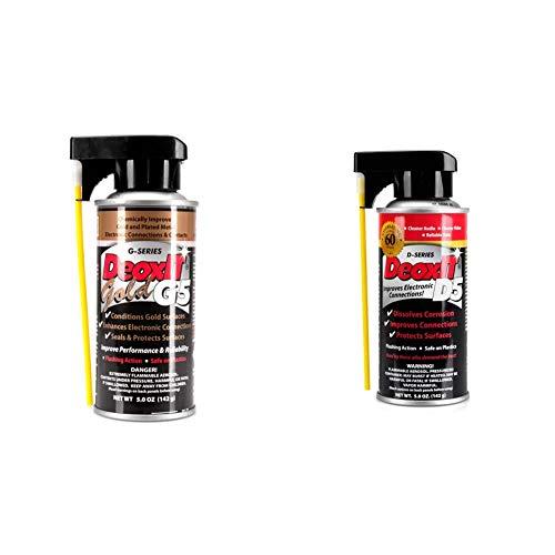 【セット買い】CAIG G5S-6 DeoxIT GOLD 5oz 接点復活剤 & D5S-6 DeoxIT 5oz 接点復活剤