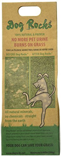 Dog Rocks - Prevent Grass Burn Spots by Urine 200g - Save Your Lawn from Yellow Marks