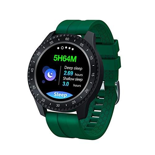 Relojes de pulsera Pulsera Deportiva, Reloj Inteligente con Recordatorio de Información de Llamada de Teléfono Móvil, Seguimiento de Actividad Física con Pantalla A Color de 1,54 '', para Android Y IP
