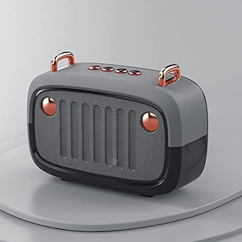 Lsdnlx Bluetooth Lautsprecher,Coole Vintage tragbare...