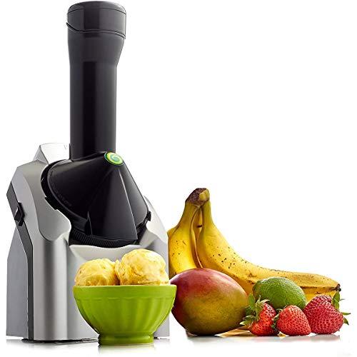 Clouds Eismaschine, Tragbare Fruchteis Eismaschine 1.5L Hausgemachtes EIS Haushalt Mini Kleine Eismaschine Für Gefrorene Früchte 200W
