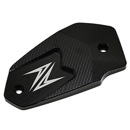 Motorcycle CNC Aluminium Il Tappo per Serbatoio Freni per KAWASAKI Z750 750R Z1000 2009-2016 KAWASAKI Z800 Z 800 2013-2015 KAWASAKI Z900 2016 Argent