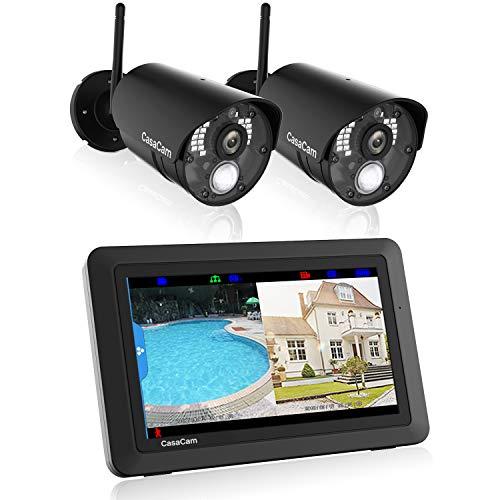 CasaCam VS802 Wireless Security Camera System with 7