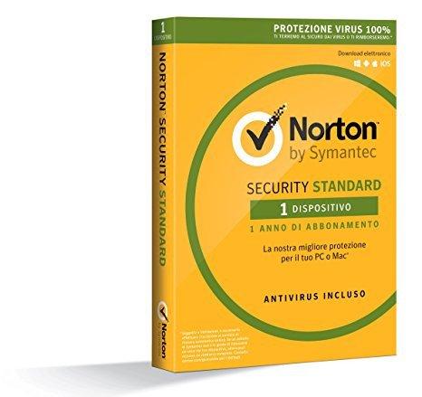 Norton Security Standard 2018- 1 Anno - 1 PC – LICENZA ESD