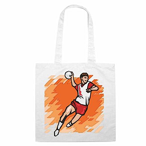 Schoudertas Handbal Volleybal Basketbal Voetbal Sport Winkeltas schooltas sporttas 38x 42 ... het ideale geschenk voor Kerstmis - Verjaardag - Pasen of gewoon voor jezelf... het ideale geschenk voor Chr
