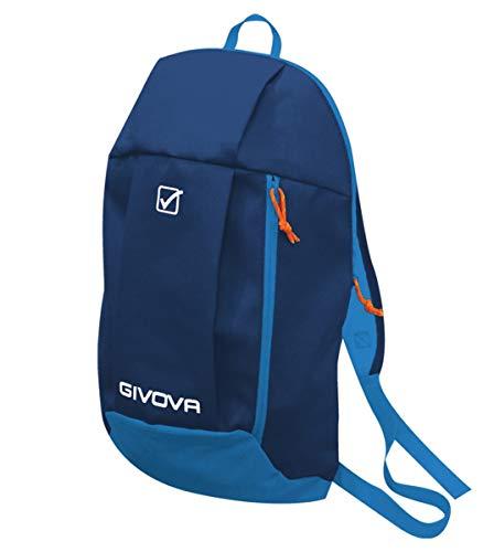 Giosal Sac à Dos Givova Sport Vêtement de Sport décontracté, Homme, Bleu Azure