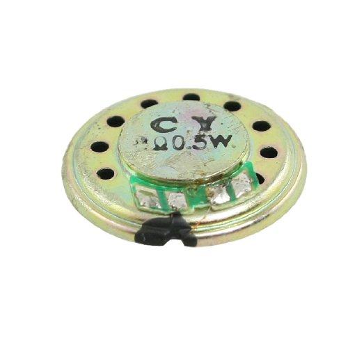 Sourcingmap® 8 Ohm 0.5W 20mm Dia. Runde Schlank Interne Magnet-Lautsprecher für Toys de