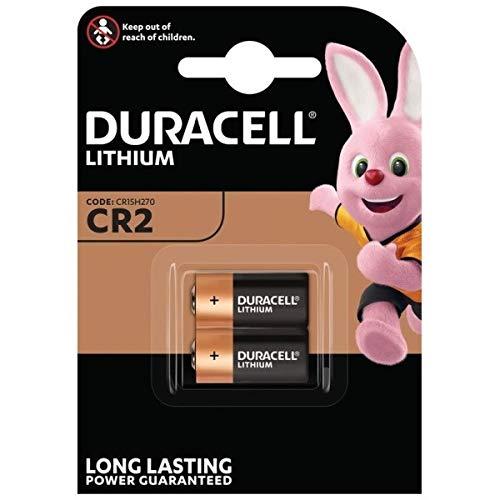 Duracell CR17355 Lithium Batterie CR2 (6-er Pack) schwarz/kupfer