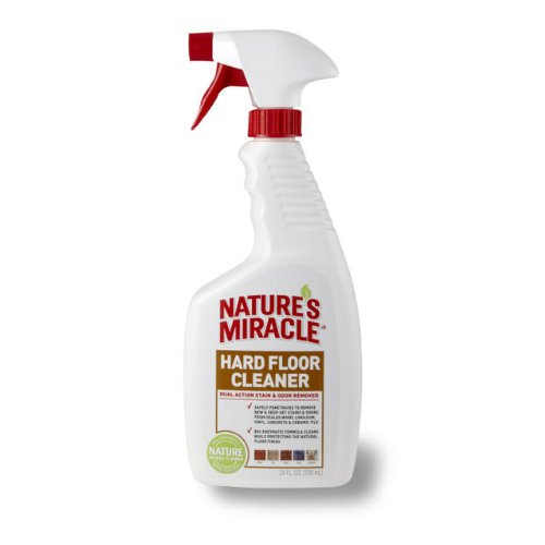 Nature's Miracle Dual Action Hard Floor Stain & Odor Remover, 24-Ounce Spray (P-5553)