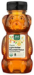 365 Whole Foods Market, Organic US Grade A Honey, Light Amber Mountain Forest, 12 Ounce (Packaging M