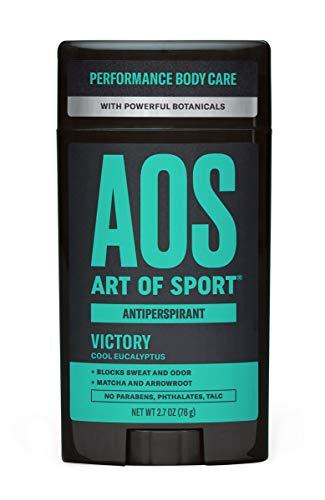 Art of Sport Men's Antiperspirant Deodorant Stick, Victory Scent, Athlete-Ready Formula with Matcha, 2.7 oz