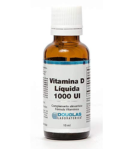 Vitamina D3 Líquida 1000 Ui 15 ml de Douglas Laboratories