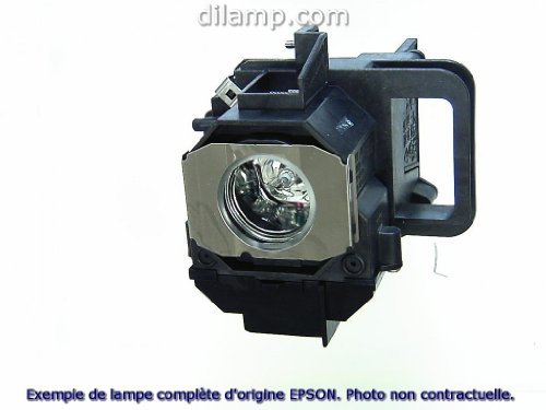 Powerlite 1965 Epson Projector Lamp Replacement. Projector Lamp Assembly with Genuine Original Ushio Bulb Inside.