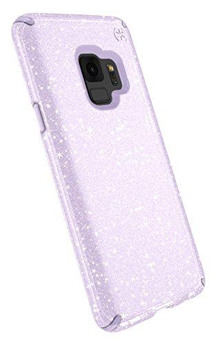 Speck 109511-7062 Presidio Clear+Glitter Funda para Samsung GS9 - Transparente/Púrpura