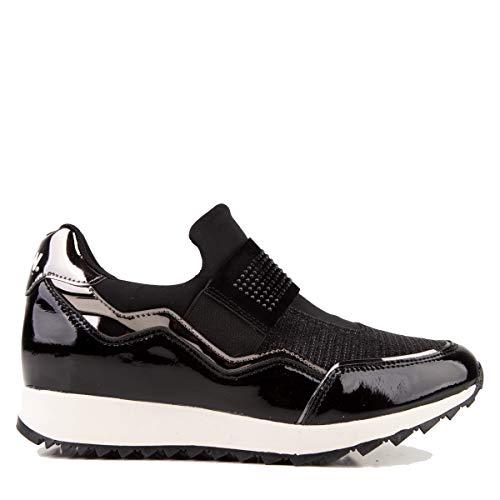 D.Franklin Sneakers rockslide, Zapatillas Mujer, Negro, 39 EU