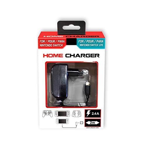 Subsonic - Chargeur secteur compacte Type C 2,4A pour Nintendo Switch et Switch Lite Console et Accessoires - Power & Play adapter - Compatible Samsung Galaxy S 8