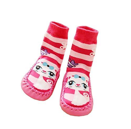 Sokken - antislipschoenen - baby's - warm - fantasie - kat - cadeau-idee - jongen - meisje - unisex
