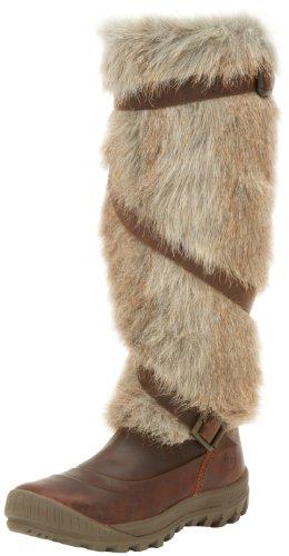 Timberland Damen Mount Holly Strap Kniehohe Stiefel, Braun (braun), 38 EU