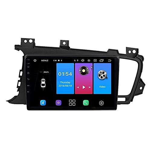 WY-CAR 9 Pulgadas Android 8.1 Pantalla Táctil Player Multimedia Multimedia para KIA K5 2011-2015, FM/Bluetooth/SWC/Enlace DE Espejo/Cámara De Vista Trasera,8 core-4G+WiFi: 4+64G