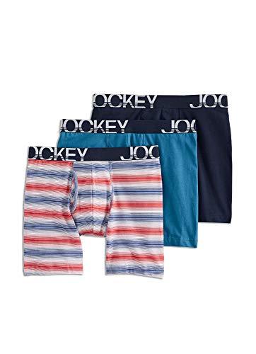 10. Jockey Men's Underwear Active Stretch Brief