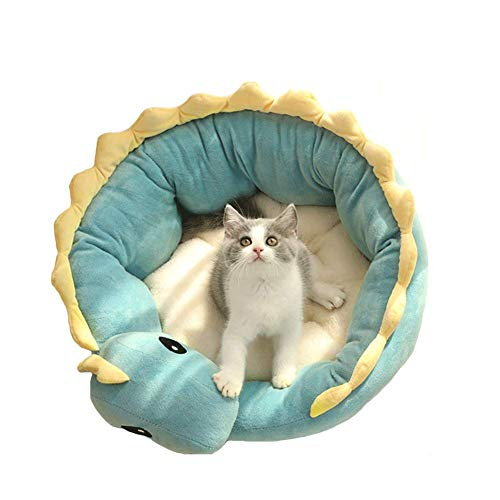 LETU Dog Beds for Small Dogs? Super Soft and Cosy Plush Dog Bedmachine Washable Winter Warm Semi-enclosed Pet Bed Cat Bed Cat House Kennel (xl)