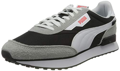 PUMA Unisexs Future Rider Vintage Sneaker, Zwarte Puma zwarte steengroeve, 41.5 EU