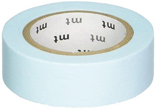 MT Washi tape, 1P Basic, 15mm x 10m, pastello blu scuro (MT01P307)