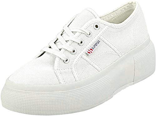 Superga Damen 2287-cotw Gymnastikschuhe, Weiß (White 901), 38 EU