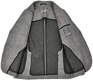 CIRCOLO 1901【チルコロ】ジャージージャケット サキソニープリント 0204-282218 GRIG コットン グレー