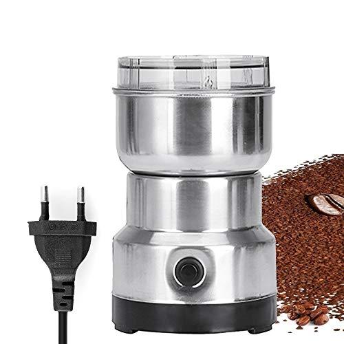 Loijon Multifunções Smash Máquina de Cereais Elétricos Moinho Moedor de Especiarias Ervas Pulverizador Moedor Máquina Ferramenta Moedor de Café Elétrico de Aço Inoxidável para Casa