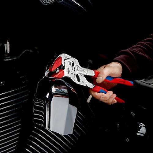 Knipex Zangenschlüssel – Greifzange und Schraubenschlüssel, 250 mm, Greifweite bis 46 mm - 10