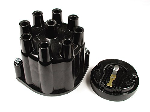 ACCEL 8124ACC Heavy Duty Distributor Cap and Rotor Kit - Black