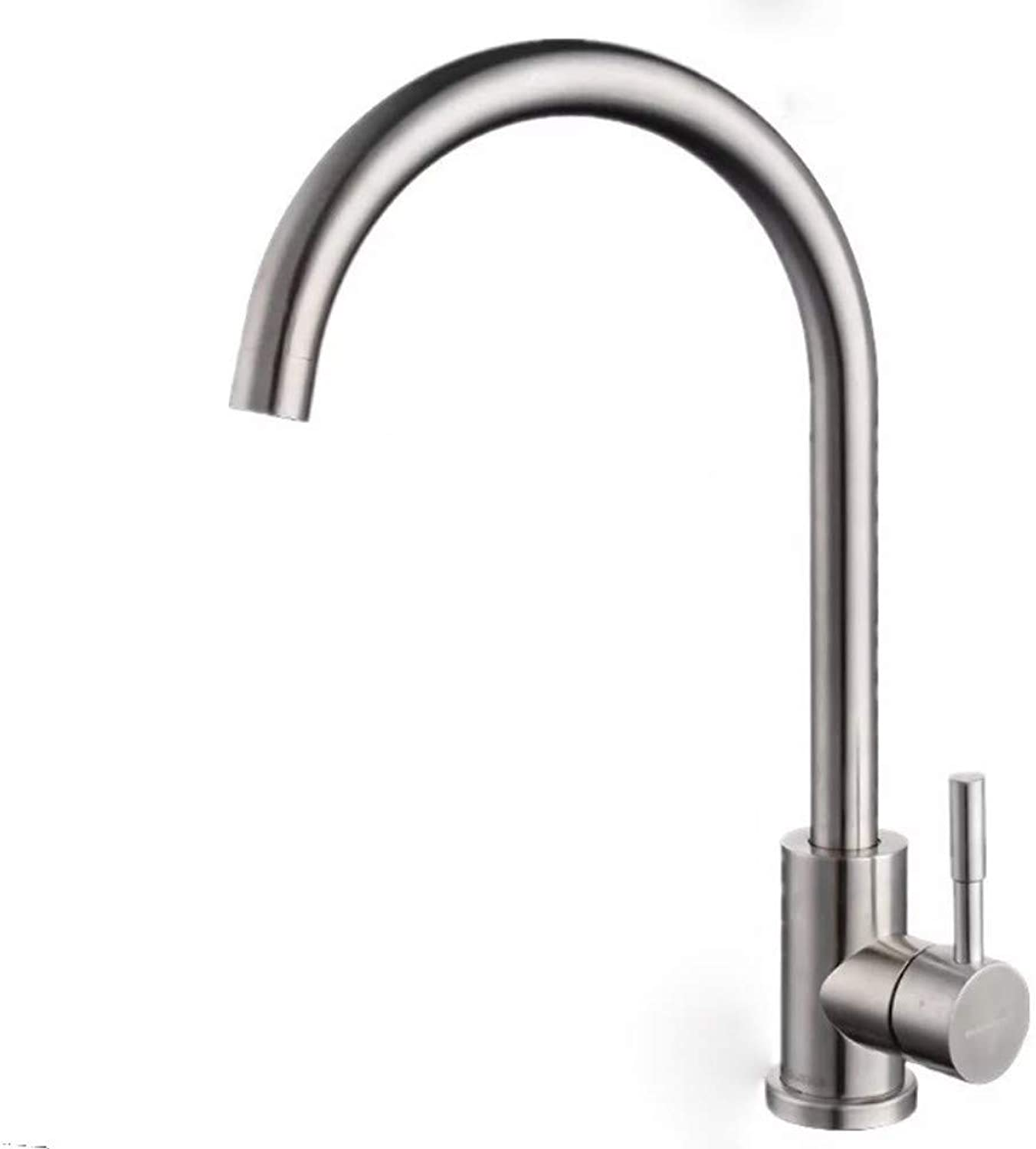 Stainless Steel Kitchen Hot and Cold Faucet Sink Sink Brushed redating Faucet