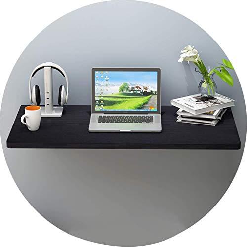 HYYK Küche Klapp-Esstisch Klappbarer Wand-montierter Tisch Wandmontierter Computer-Schreibtisch Haushaltstisch für kleine Räume Zuhause Küche Schlafzimmer Büro Badezimmer Balkon
