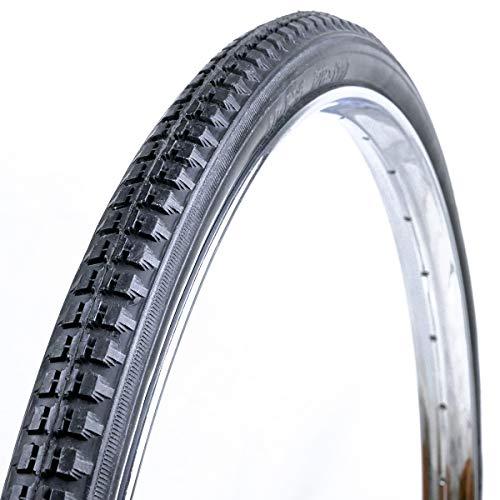 OldNewBikes Juego de Cubiertas de Color Negro (2 Unidades) Marca RALSON para Bicicleta clásica, Medidas 28x1,1/2