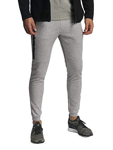 Only & Sons Onsvinn Zip Sweat Pants Noos Pantalones, Gris (Light Grey Melange), 48 (Talla del Fabricante: Small) para Hombre