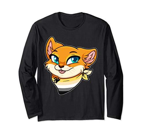 Bear Fursona Furry Cat Gay Rights Pride Week Long Sleeve T-Shirt