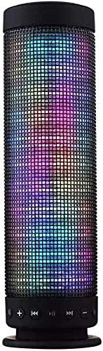Los colores del altavoz llevaron el altavoz Bluetooth de las luces con los efectos potentes de la iluminación