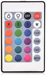 Diyeeni RGB LED Controlador RGB Control Remoto 4 Modos de luz Personalización del Color para PC Enfriador de Ventilador de...