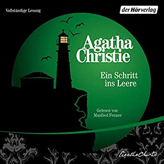 Ein Schritt ins Leere                   Autor:                                                                                                                                 Agatha Christie                               Sprecher:                                                                                                                                 Manfred Fenner                      Spieldauer: 6 Std. und 8 Min.     5 Bewertungen     Gesamt 4,8