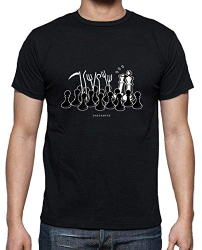 latostadora Camiseta Jaque Mate - Camiseta Hombre clásica