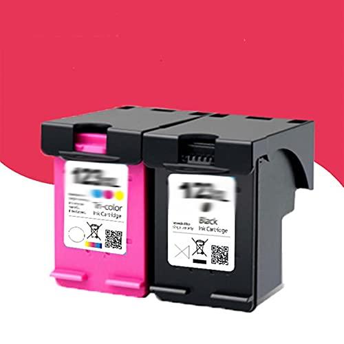 Parte Impresora 12 3XL Cartucho de Tinta Reemplazo de Ajuste for HP 123 XL HP123 Cartucho Apto for HP Deskjet 1110 2130 2132 2133 3630 3632 3638 4520 Impresora (Color : 1 Balck)