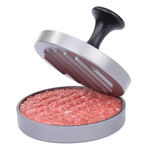 Gräwe ®–Set per Fare Hamburger, Ora con Comoda Maniglia e 25Fogli di Carta Forno