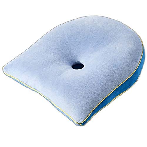 HAC24 Orthopädisches Sitzkissen Keilkissen Sitzauflage Rücken Kissen Bürostuhl Autositze
