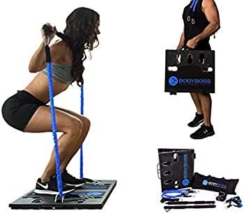 BodyBoss 2.0 Full Portable Gym Workout Package With Resistance Bands