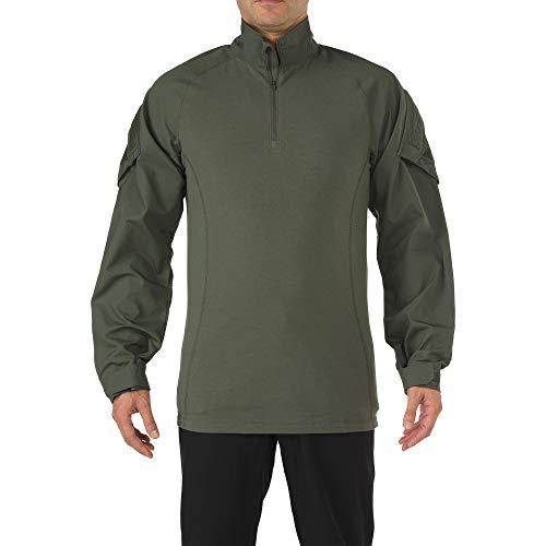 5.11 T-Shirt à Manches Longues pour Homme TDU Rapid Assault de chez Taille XXXL Vert TDU