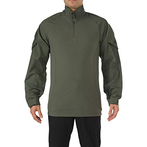 5.11 Tactical Rapid Assault Chemise Homme, Vert, FR (Taille Fabricant : XL)