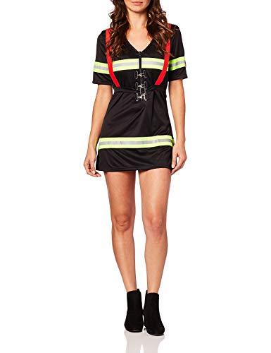 Blazin Hot Firefighter Fancy dress costume Small