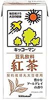 紀文 豆乳飲料 紅茶 1000ml紙パック×12(6×2)本入